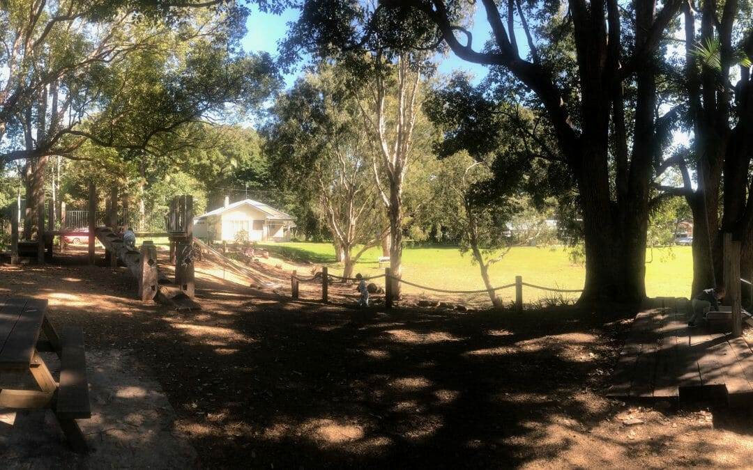 Bangalow Weir Parklands – nature play, Bangalow