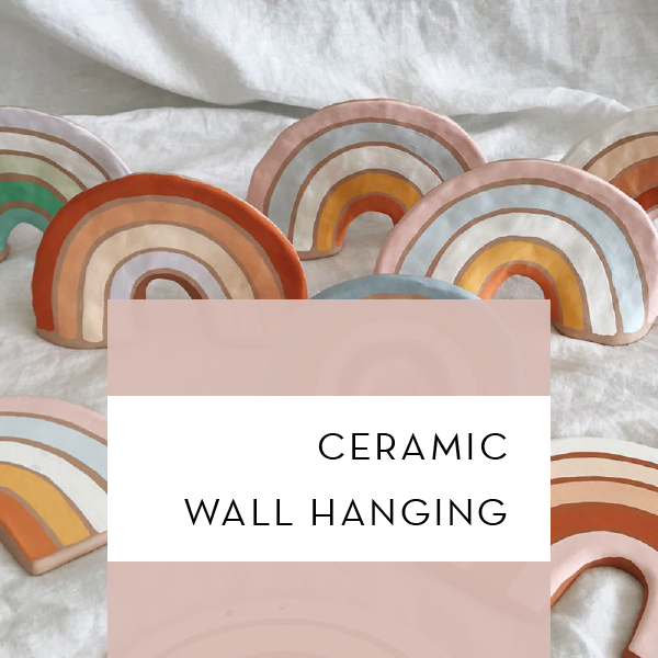 Ceramic Wall Hanging @ Hidden Creative Co