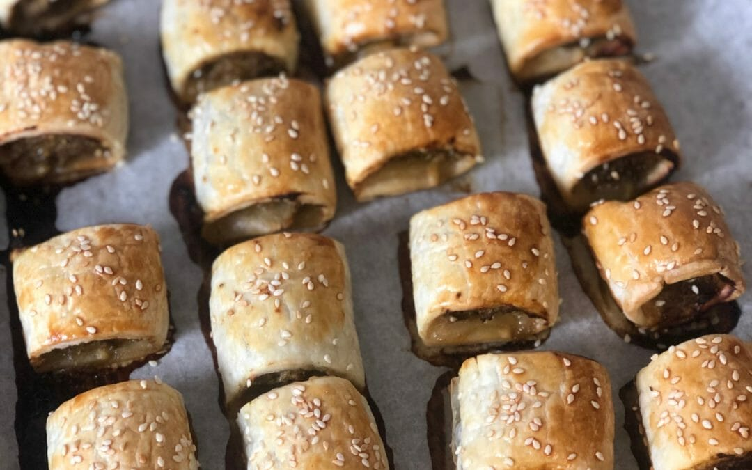 The EASIEST sausage rolls ever!