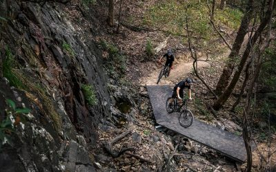 Glossy Black Reserve Mountain Bike Trails, Reedy Creek